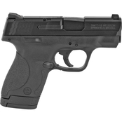 S&W Shield 9mm 3.1 in. Barrel 8 Rnd 2 Mag Pistol Black with Thumb Safety