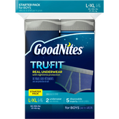 GoodNites Tru-Fit Bedtime Underwear for Boys Starter Pack, Large-Extra Large