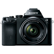 Sony Alpha a7 Full-Frame Mirrorless Camera with 28-70mm Lens