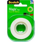 Scotch Magic Invisible Tape Refill, 3/4 in. X 500 in.