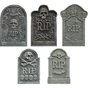 ICE Design Factory Halloween Tombstone 5 pc. Value Pack