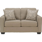 Signature Design by Ashley Alenya Loveseat, Quartz