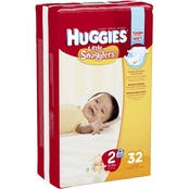 Huggies Little Snugglers Diapers Size 2 (12-18 lb.)