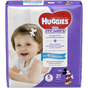 Huggies Little Movers Size 5 Diapers - 21 count