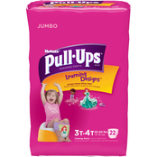 Pull-Ups Training Pants with Learning Designs for Girls 3T-4T, 22 ct.