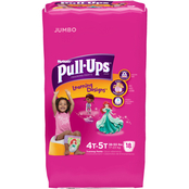 Pull-Ups Training Pants with Learning Designs for Girls 4T-5T, 18 ct.