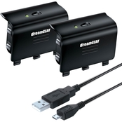 dreamGear Dual Battery Pack Charge Kit for Xbox One
