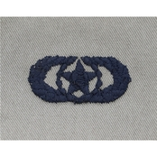 Air Force Safety Badge Embroidered, Subdued, Sew-on