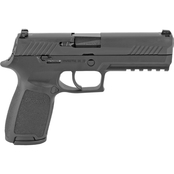 Sig Sauer P320 Full Size 9mm 4.7 in. Barrel 17 Rnd 2 Mag NS Pistol Black