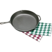 Texsport 10.5 in. Cast Iron Skillet