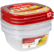 Rubbermaid 3 and 5 Cup Value Pack Easy Find Lids Value Pack