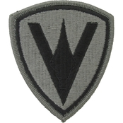 Army Unit Patch 5th Marine Division (ACU) Velcro