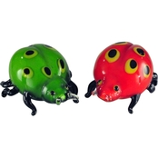 Dale Tiffany Ladybug Sculpture 2 pc. Set