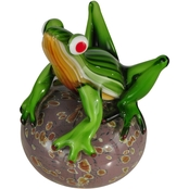 Dale Tiffany Frog on a Glass Ball