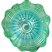 Dale Tiffany 12 in. Art Glass Waterfront Wall Art