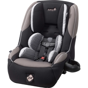 Safety 1st Guide 65 Air Convertible Car Seat, Chambers (Black, Espresso & Silver)