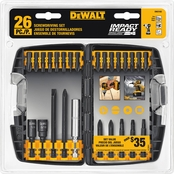 DeWalt 26 pc. Impact Ready Accessory Set