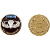 Challenge Coin Basic Airborne Course Coin