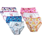 My Little Pony Little Girls Panties 7 pk.