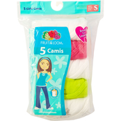 Fruit of the Loom Girls Cami 5 Pk.