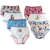Disney Minnie Mouse Toddler Girls Underwear 7 Pk.