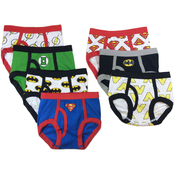 DC Comics Toddler Boys Justice League Briefs 7 pk.