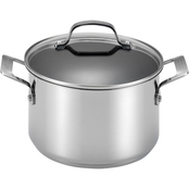 Circulon Genesis Stainless Steel Nonstick 5 qt. 2 pc. Covered Dutch Oven