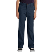 Dickies Girls Plus FlexWaist Classic Fit Straight Leg Stretch Twill Pants