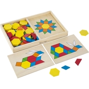 Melissa & Doug Pattern Blocks and Boards Set