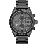 Diesel Men's Double Down Series Analog Display Analog Quartz Grey Watch DZ4314