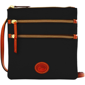 Dooney & Bourke Nylon Collection North/South Triple Zip Crossbody