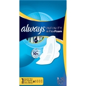 Always Infinity Regular with Wings Unscented Pads 36 ct.