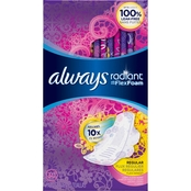 Always Radiant Regular with Wings Scented 30 ct.