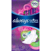 Always Radiant Heavy with Wings Scented Pads 26 ct.
