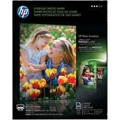 HP Everyday 8.5 X 11 In. Glossy Photo Paper 50 Pk.