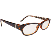 Rocco Classic Wafer Readers with Floral Print Inside