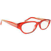 Rocco Crystal Front Readers with Multicolor Wave