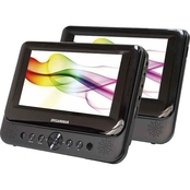 Sylvania 7 in. Dual Screen Portable DVD Player
