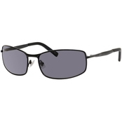 Fossil Military Metal Rectangle Polarized Sunglasses 51/S