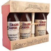 Texas Tamale Company Brush it On BBQ Sampler Pack