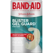 Band-Aid Brand Blister Protection, Adhesive Bandages For Fingers And Toes, 8 Ct.