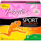 Playtex Sport Fresh Balance Super Tampon