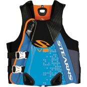 Stearns Men's V2 Series Neoprene Abstract Wave Life Jacket, XL