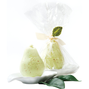 Gianna Rose Atelier Green Pear Soap in Leaf Dish