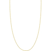 14K Gold 22 in. Adjustable Sparkle Chain