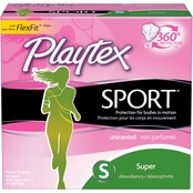 Playtex Sport Unscented Super Tampon