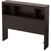 South Shore Cakao Twin Bookcase Headboard