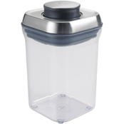 OXO Good Grips POP Steel Small Square Container .9 qt.