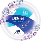 Dixie Everyday Paper Plates 8.5 in., 48 ct.