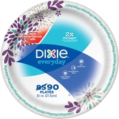 Dixie 8.5 in. Paper Plates 90 ct.